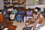 National Grandmother Advocacy Champions meeting with commissioner Disability & Eldery, Ministry of Gender, Labour and Social Development